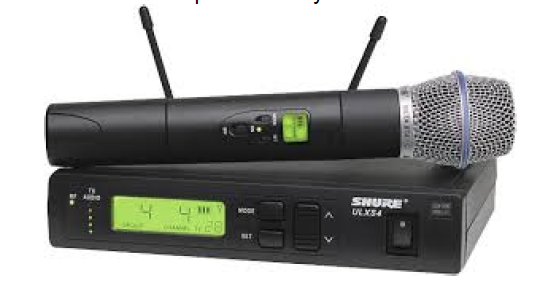 Shure Wireless Microphone-Airwaves