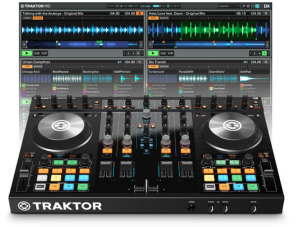 Traktor S4 Mixer-Airwaves